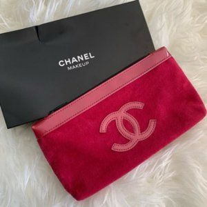 Chanel VIP makeup pouch/clutch